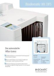 Bindomatic 101 DFS - Bindomatic GmbH