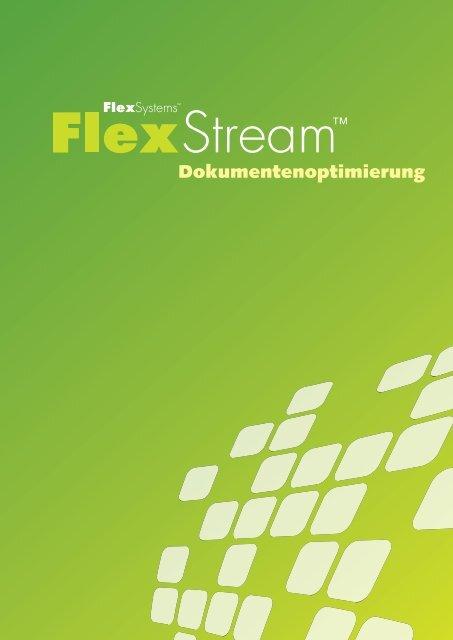 können Sie das Datenblatt zur Software FlexStream als PDF laden