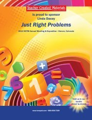 Just Right Problems - Teacher Created Materials