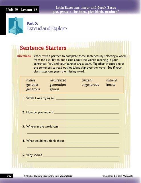 Unit IV Lesson 17 Latin B