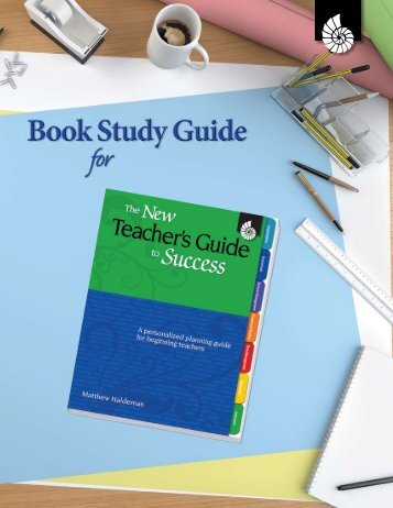 # 50627—The New Teacher's Guide to Success—Book Study Guide ...