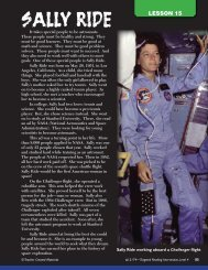Sally Ride - Teacher Created Materials