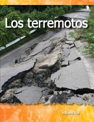 Los terremotos - Teacher Created Materials
