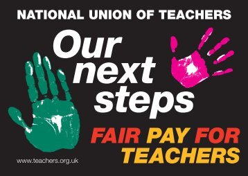 Our next steps - National Union of Teachers