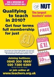 Transfer No Details/DD (4814) - National Union of Teachers