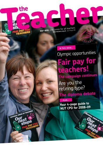 Fair pay for teachers! The campaign continues - National Union of ...