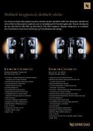 187760-Fiche gemini sheet OOH Dan:fiche gemini ... - Nespresso
