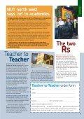 Teacher - National Union of Teachers - Page 7
