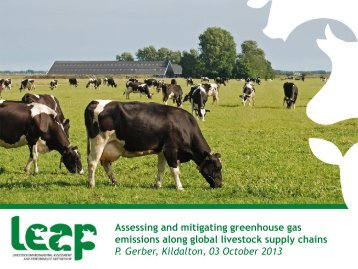 Assessing and mitigating greenhouse gas emissions ... - Teagasc