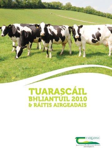 Tuarascáil Bhliantúil 2010 - Teagasc