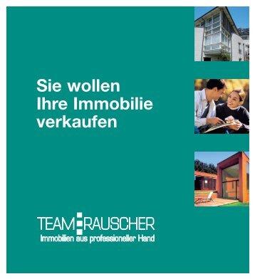 Sie wollen Ihre Immobilie verkaufen - TEAM-RAUSCHER ...