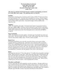 2012 All-Star Swim Meet Information - TeamUnify