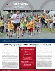 Report - United States Olympic Committee