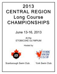 2013 central region long course championships - TeamUnify
