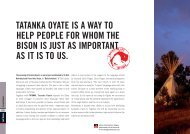 TATANKA OYATE IS A WAY TO HELP PEOPLE FOR ... - E-biwak.pl