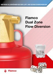 flamco Dual zone flow Diversion
