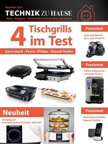 e-paper 11-2013 - Technik zu Hause