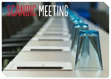 Bankettmappe - Scandic Hotels