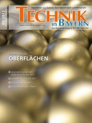 OBERflächEn - Technik in Bayern