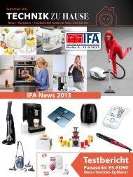 e-paper 9-2013 - Technik zu Hause