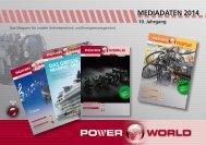 Mediadaten POWERWORLD - TechTex Verlag