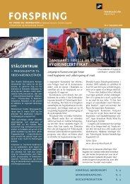 Forspring 2005 Nr. 4 (258 KB) - Teknologisk Institut