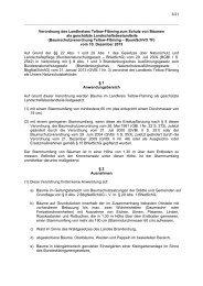 Verordnung des Landkreises Teltow-Fläming zum Schutz von ...