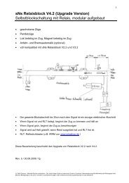 sNs Relaisblock V4.2 (Upgrade Version ... - spur-N-schweiz