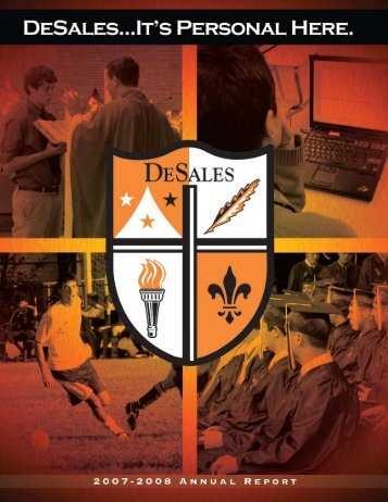 DeSales High School 2007 - 2008 Annual Report