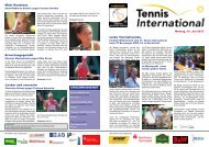 15. Juli 2013 - Tennis International