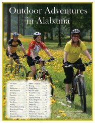Outdoor Adventures in Alabama - Alabama Tourism Department