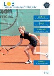 Ausgabe 2013 - HTG Tennis - HTG Bad Homburg