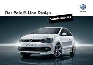 Der Polo R-Line Design - Garage Gloor AG