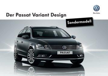Der Passat Variant Design - Garage Gloor AG