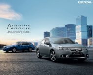 Accord - Honda