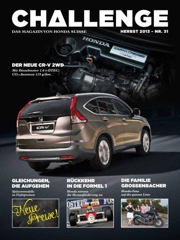 Neue Preise - Honda