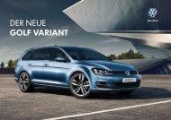DER NEUE GOLF VARIANT - Garage Gloor AG