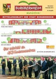 Hier entsteht ein ASB Seniorenzentrum - Burgbernheim