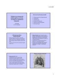 Südame ja veresoonte radioloogiline uurimine, normleid ja ...