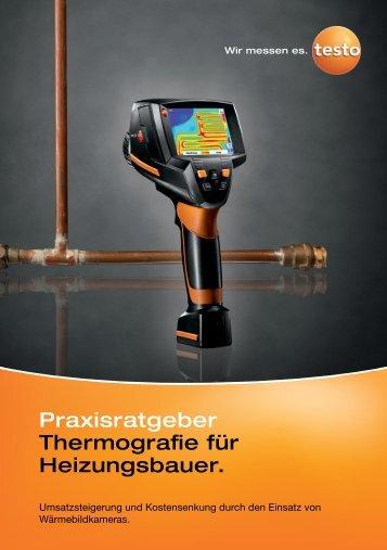 Praxisratgeber Thermografie für Heizungsbauer. - TestoSites