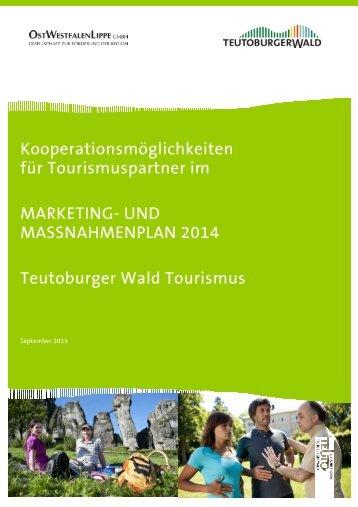 und Maßnahmenplan 2014 im PDF Format - Teutoburger Wald