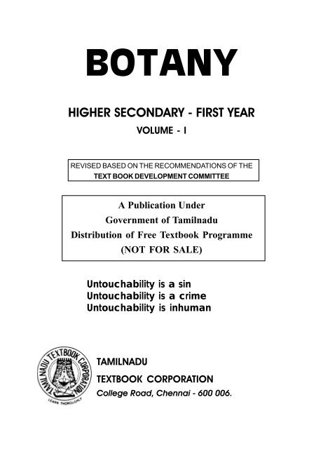 College Botany Book