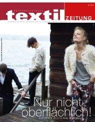 DOB IM H/W 2013/14: Mode mit Tiefgang - Österreichische Textil ...