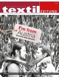 I'm from - Österreichische Textil Zeitung
