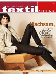 Wachsam, - Österreichische Textil Zeitung