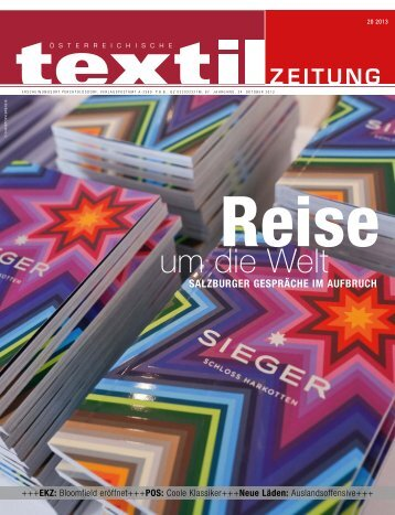 um die Welt - Österreichische Textil Zeitung