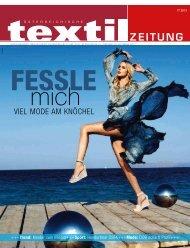 VIEL MODE AM KNÖCHEL - Österreichische Textil Zeitung
