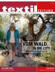 VOM WALD - Österreichische Textil Zeitung
