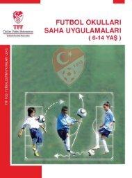 2- Futbol Okulları - Türkiye Futbol Federasyonu