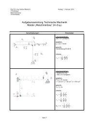 Aufgaben (Spezial) - Technische Hochschule Wildau